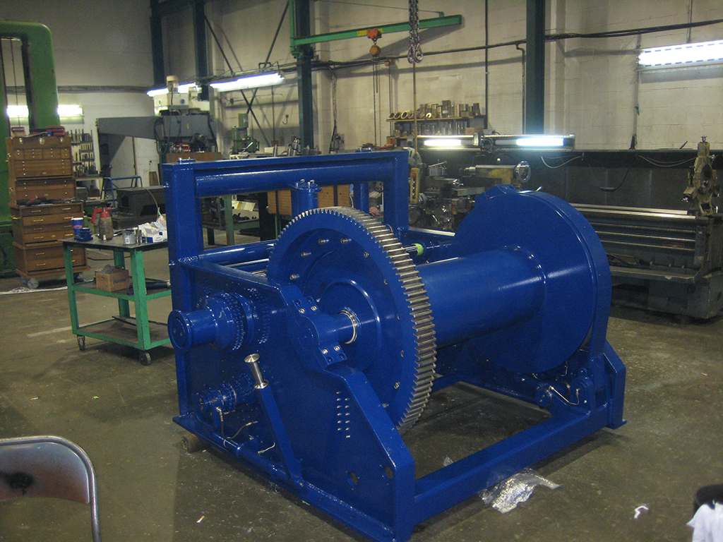 Marine tow Winch Machining