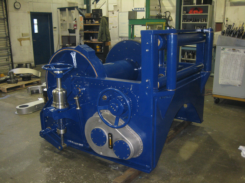 tugboat towing winch manufacturing