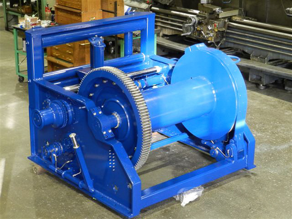 Marine Winch manufacturing for tug boat