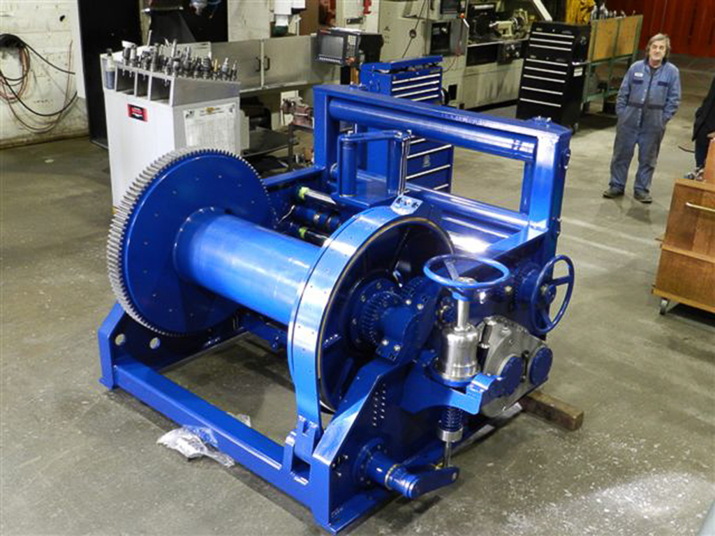 marine towing winch manufacturing