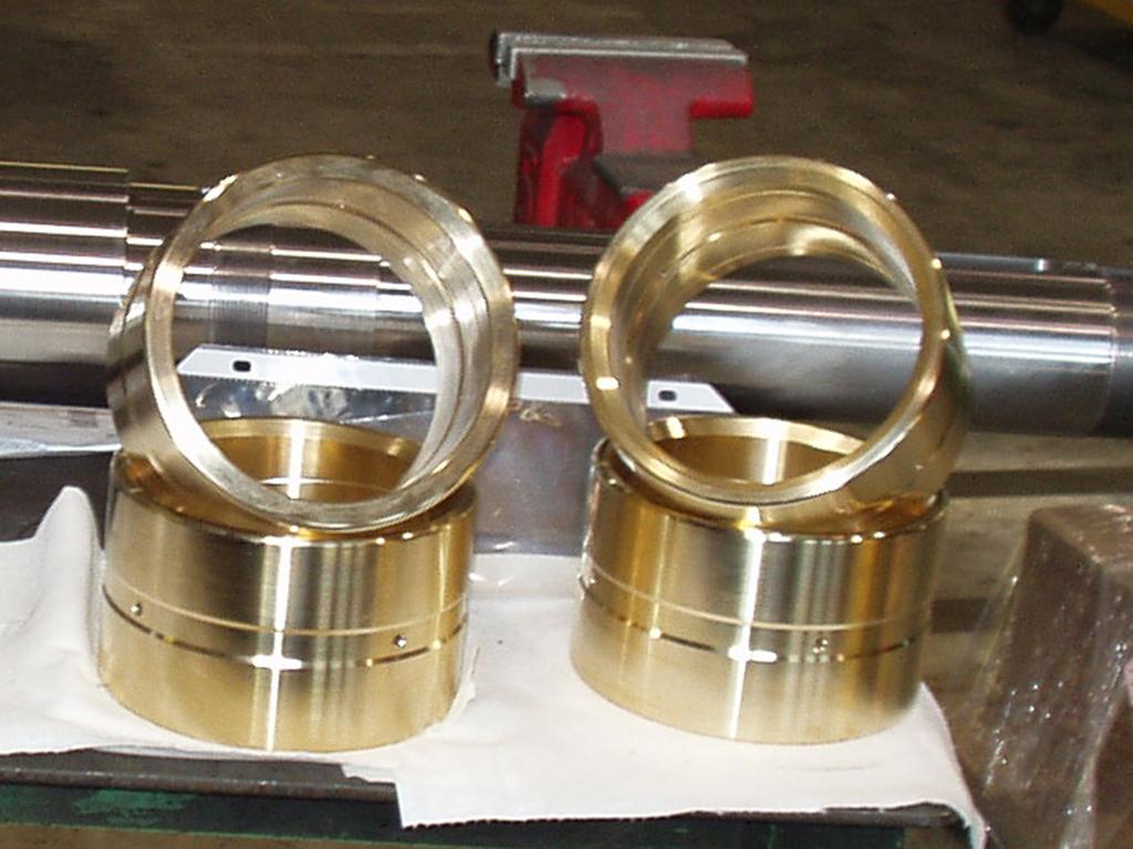 bushings for hydraulic cylinder