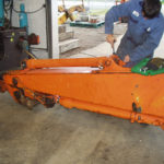 Getting ready to linebore hitachi stick