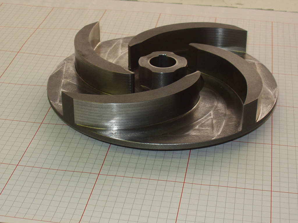 Campbell River machine shop project Pump Impeller