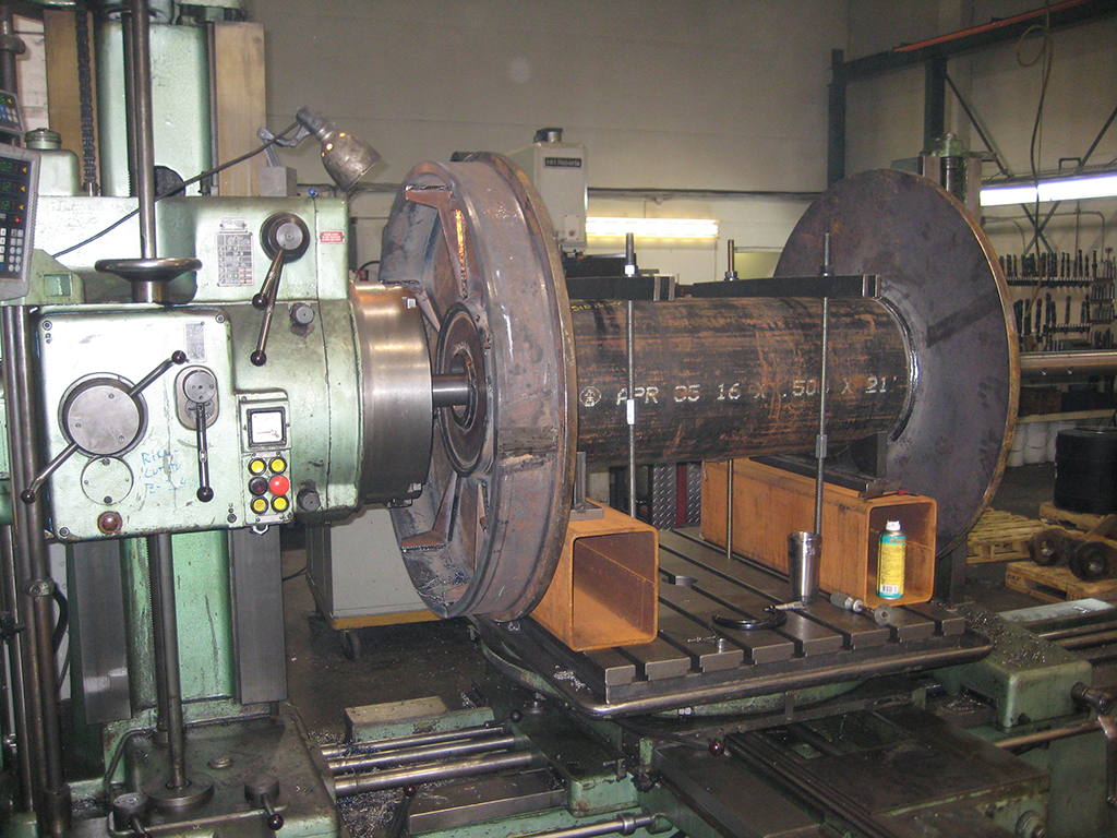 boring tow winch drum