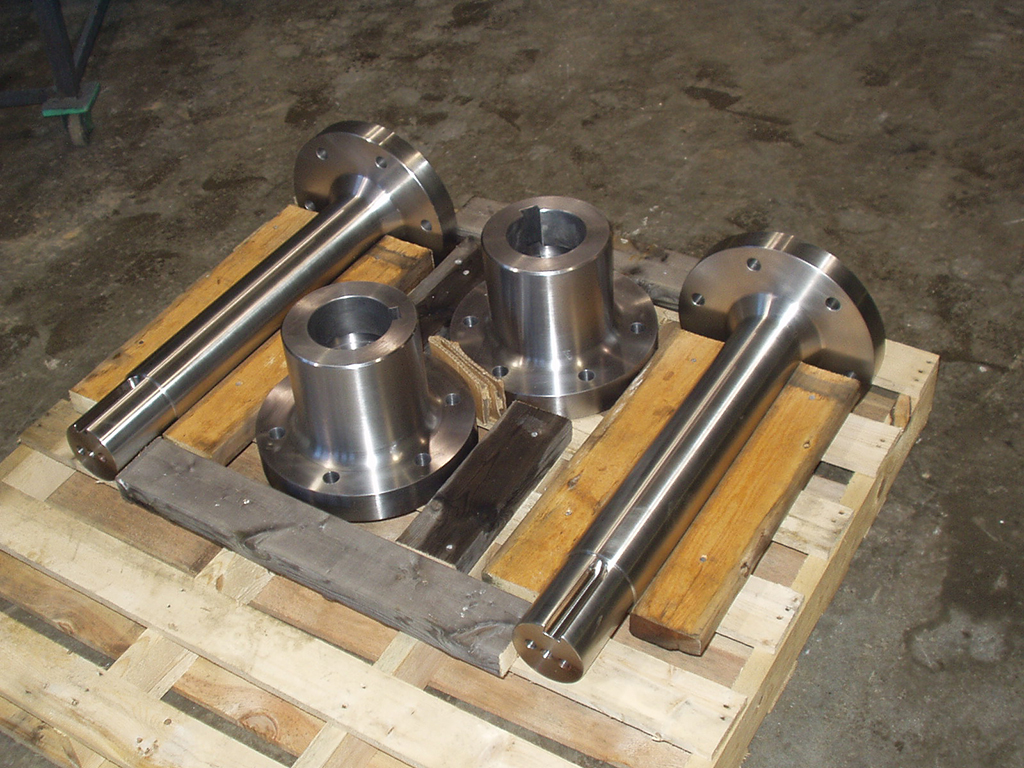 stainless steel mixer shafts and couplings